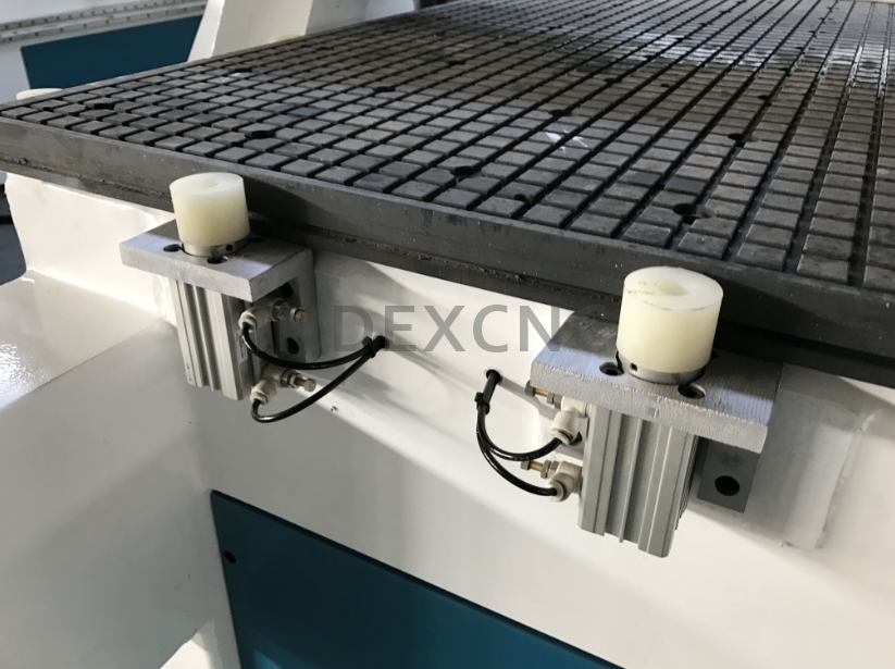 Intelligent pneumatic multi heads cnc router, kitchen cabinet door marking cnc router