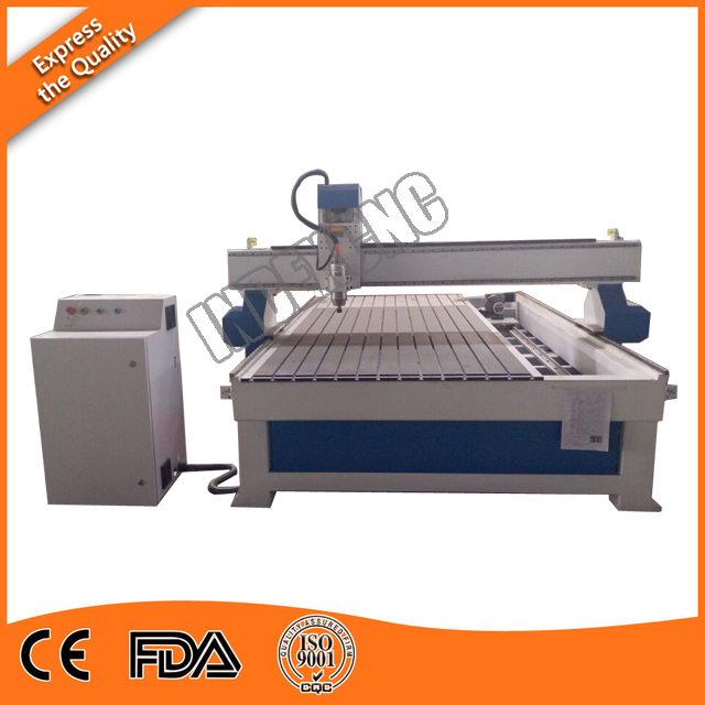 High quality 4 axes rotary axis cnc router 1325 , 4 axis wood cnc router for soft metal , aluminum , MDF
