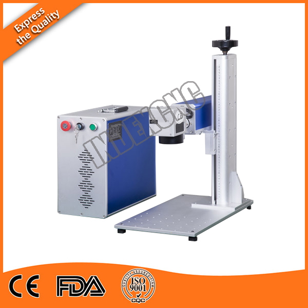 30w Fiber laser marking machine for stainless steel