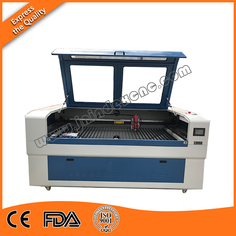 4 heads CNC laser cutting and engraving machine ordered by Spanish customer for wood,acrylic cutting