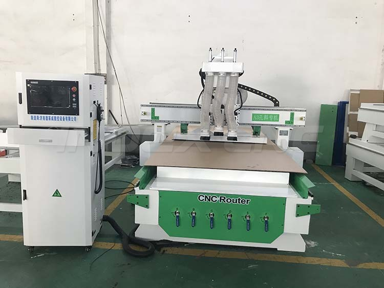 Delivery for 3 spindles1325 CNC router