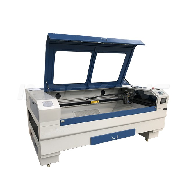 INJ1610-2T Mixed laser cutting machine for 20mm wood , wood laser engraving and cutting machine