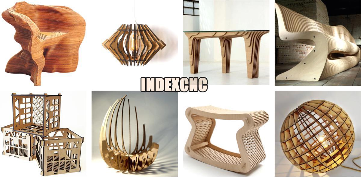 Laser Cut Wood Furniture